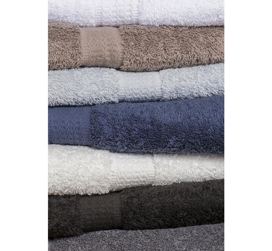 Handdoek Taupe per 5 verpakt