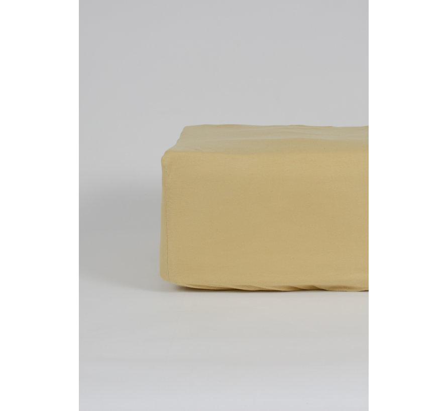 Mosterdgeel Jersey Hoeslaken 150 gram