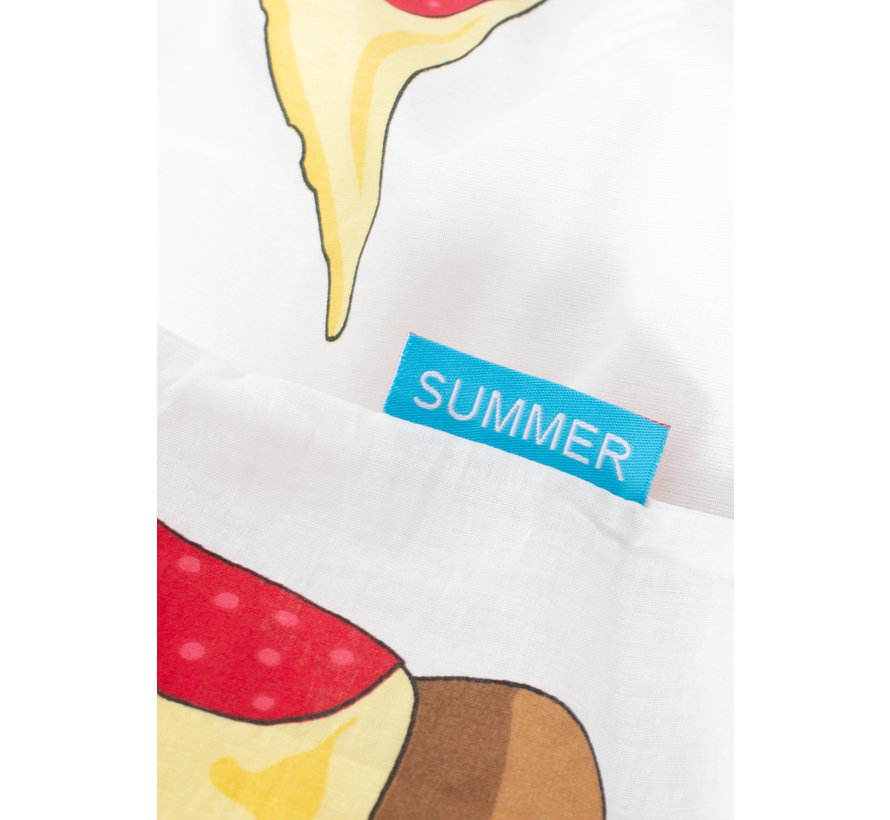 Dekbedovertrek - Pizza