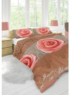 Nightlife Wake Up Dekbedovertrek Bloomings Taupe