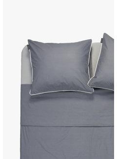 Ambianzz Kussenslopen - Cotton solid Donkergrijs (per 2 verpakt) 2x 60x70 cm