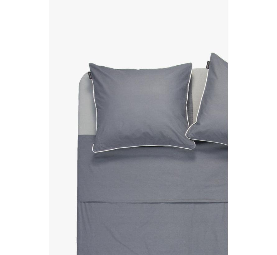 Kussenslopen - Cotton solid Donkergrijs (per 2 verpakt) 2x 60x70 cm 2x 60x70 cm