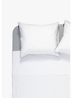 Ambianzz Kussenslopen - Cotton solid Wit (per 2 verpakt) 2x 60x70 cm