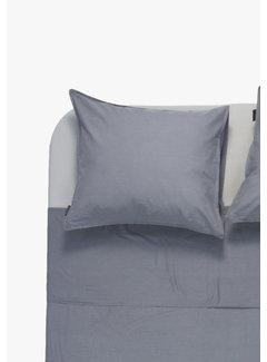 Ambianzz Kussenslopen - Vintage washed linnen katoen Donkergrijs (per 2 verpakt) 2x 60x70 cm
