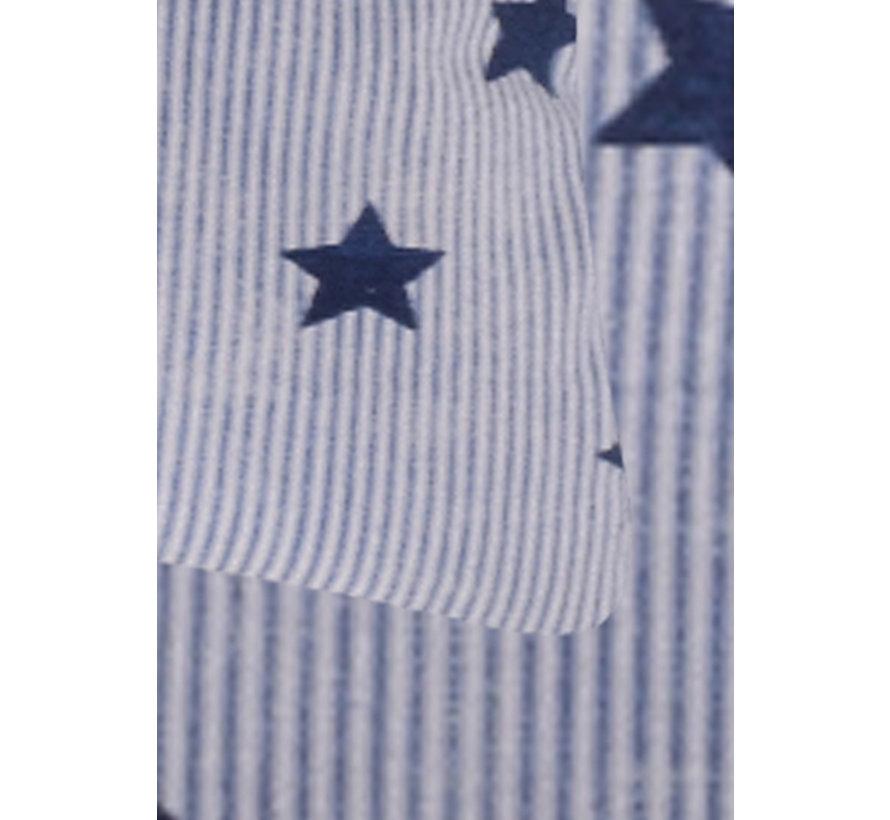 Dekbedovertrek Star and Stripes Blauw