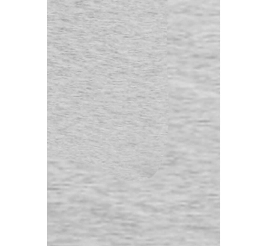 Dekbedovertrek Melange Uni Grijs Lits-Jumeaux [240x200/220] 2x 60x70 slopen