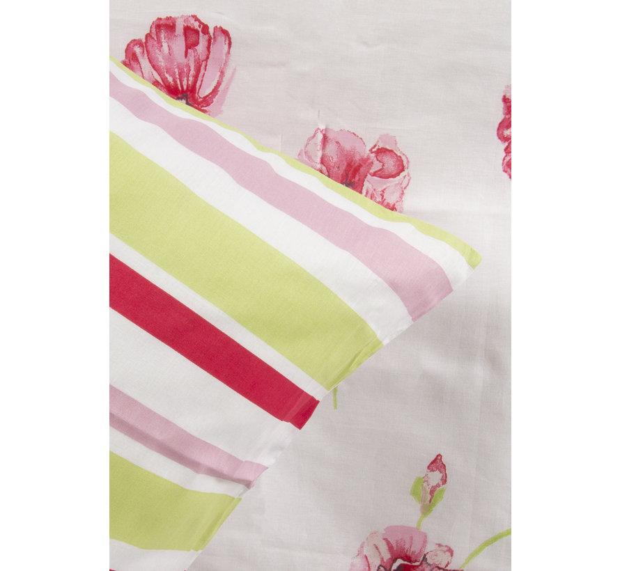 Dekbedovertrek Poppy Flower Roze