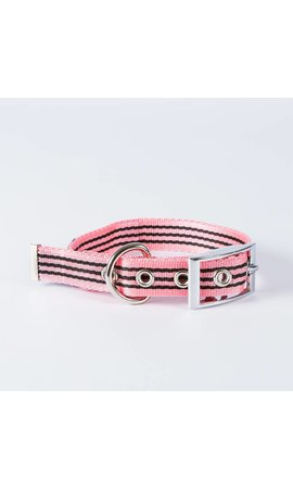 Canvasco Urban Dogs Halsband Roze 25mm