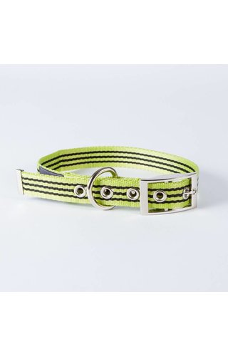 Canvasco Urban Dogs Halsband Groen 25mm