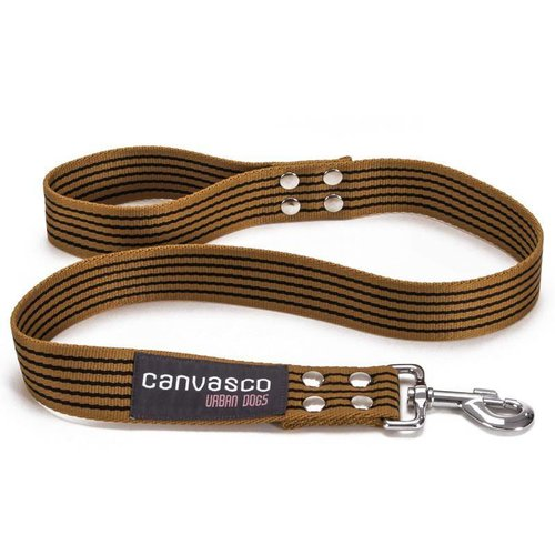 Canvasco Urban Dogs Riem Cognac 40mm
