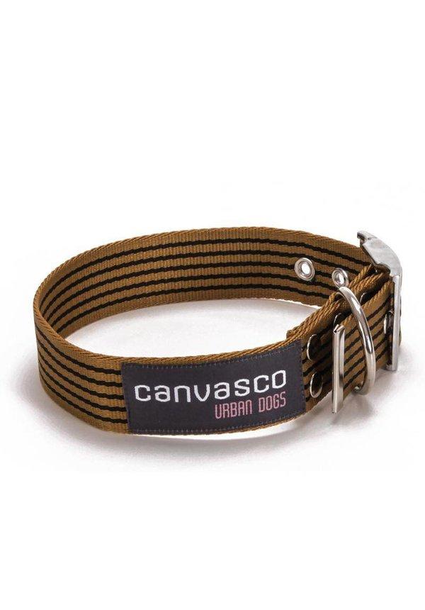 Canvasco Urban Dogs Riem Paule Cognac 40mm