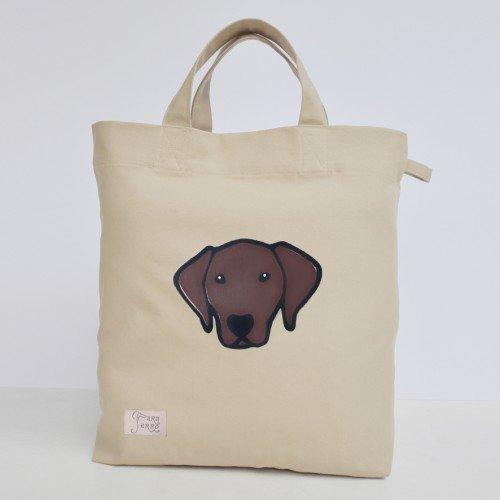 Paraperro® Tas ''Brown Labrador''