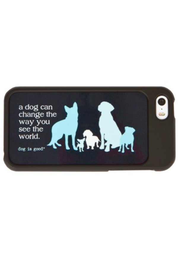 Dog is Good! IPhone4/4s hoesje 'See the world'