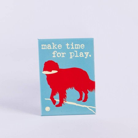 Dog is Good! Magneet 'Make Time for Play'