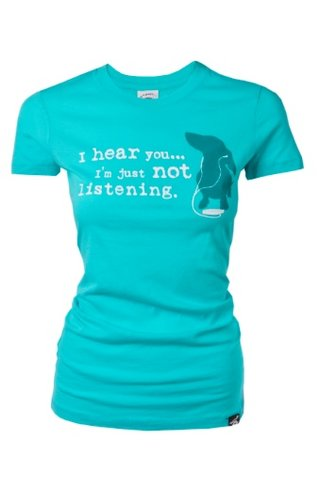 Dog is Good! T-shirt 'Not Listening'