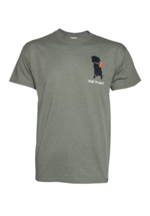 Dog is Good! T-shirt 'Never Camp Alone'