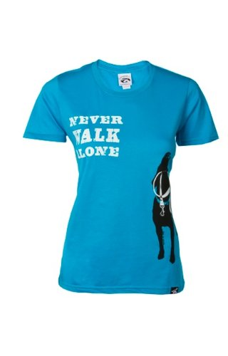 Dog is Good! T-shirt 'Never Walk Alone'