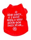 Honden Kerst Trui - Dear Santa