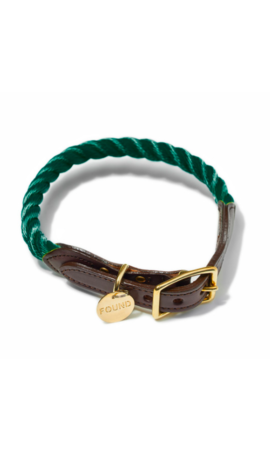 Found My Animal Halsband Hunter Green