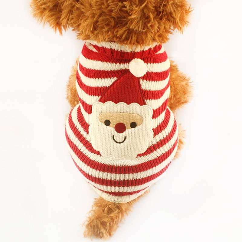 Kersttrui Mopshond.Honden Kerst Trui