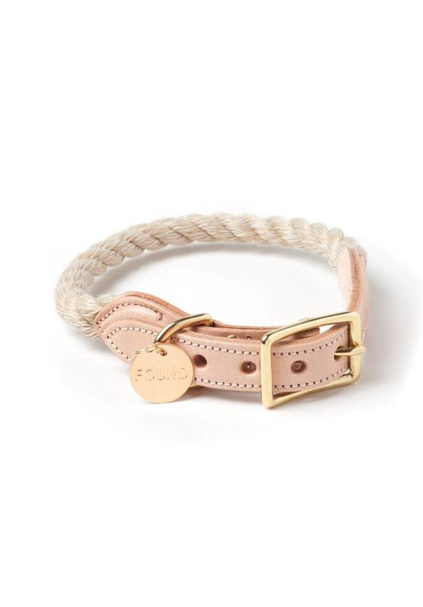 Found My Animal Halsband Jute