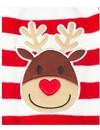 Honden Kerst Trui - Rendier Rood