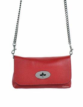 Lederen schoudertasje of belt bag | 2-in-1