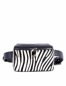 Leather Belt Bag | Cowhide | Print