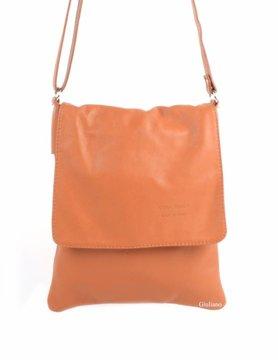 Leather shoulderbag | Large