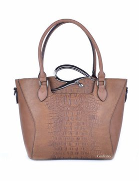 Artificial leather handbag | Bag-in-bag