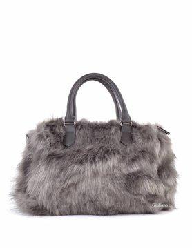 Artificial leather handbag | Plush