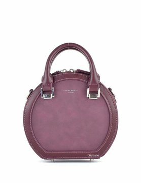 David Jones | Artificial leather handbag | Round
