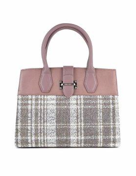 David Jones | Artificial leather handbag | Tartan
