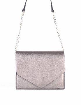 Artificial leather shoulderbag | Envelope
