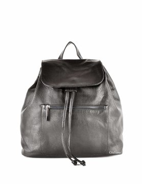 Artificial leather backpack
