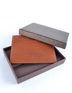 2855d72952b Lederen portemonnee / pasjeshouder