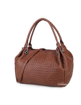 Artificial handbag | Braided