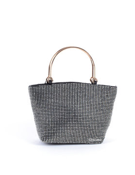 Evening bag | Metal handles