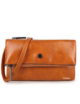 Artificial leather shoulderbag | Clutch