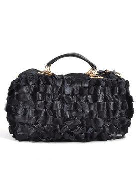 Leather handbag / bowling | Cowhide