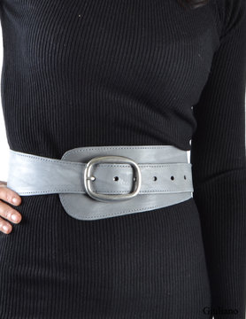 Wide belt - Grey