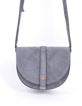 Suède shoulderbag Grey