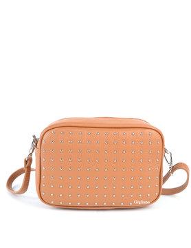 Leather shoulderbag | Studs
