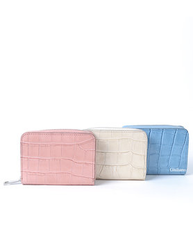 Leather wallet  | Kroko