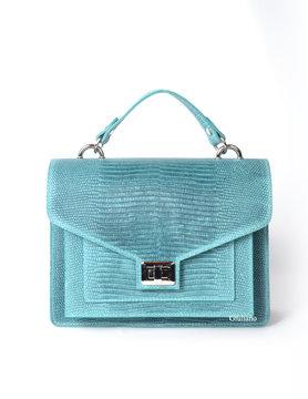Leather handbag | Lizard