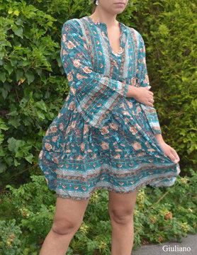 Dress |61028 Short Petrol