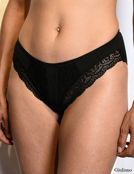 Type 1- Slip Lace 2-pack   Zwart