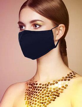 Fabric Face Masks  Uni  - Darkblue