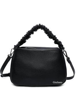 Artificial leather handbag