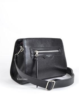 Artificial leather shoulderbag
